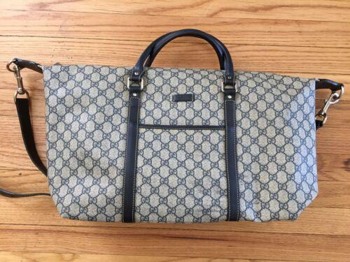 Vintage Gucci Boston Duffel Bag