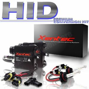 XENTEC-35w-Xenon-HID-KIT-H11-Headlight-2-BALLAST-2-BULBS-Conversion-Light