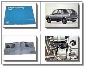 VW-Golf-2-Betriebsanleitung-Bedienungsanleitung-1984