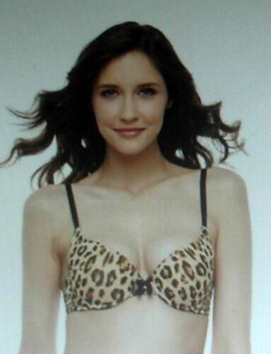 2 Available /'PINK K/' Women/'s Leopard Print ULTRA PUSH-UP BRA Size 38B