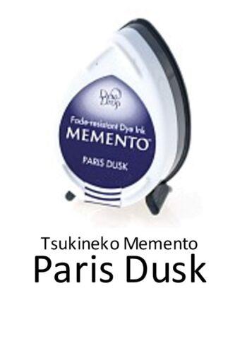 TSUKINEKO MEMENTO ROSÉE GOUTTE ENCRE COUSSIN Empreinte digitale Arbres