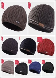 New-Kenmont-Men-Waterproof-Wool-Knitted-Beanie-Thermal-Ski-Hat-Cycling-Outdoor