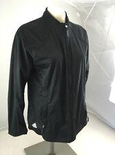EUC Adidas SAMPLE Women's ClimaProof Storm Black Golf windbreaker jacket M