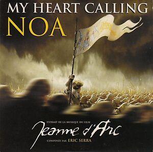 Noa-CD-Single-My-Heart-Calling-Promo-France-EX-EX