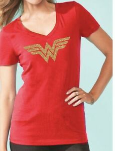 Wonder-Woman-Diana-Comic-Superhero-Women-T-shirt-Tee-Top