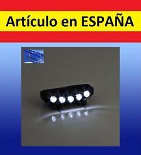 luz 5 LED adaptador gorra caza pesca bici ciclismo casco camping linterna correr