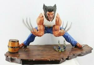 Details about Unpainted Unassembled 1/4 Wolverine Mutant Statue Resin Model  Kit Cast For Hobby