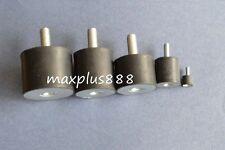 10pcs Male Thread 25*15mm M6 VD Rubber Anti Vibration Shock Pad Silent block