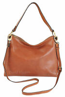 Gianni Conti Italian Fine Leather Tan Shoulder Handbag Bag - 916838