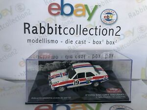 DIE-CAST-034-FORD-ESCORT-RS1600-RALLY-MONTE-CARLO-1972-T-MAKINEN-H-LIDDON-034-1-43
