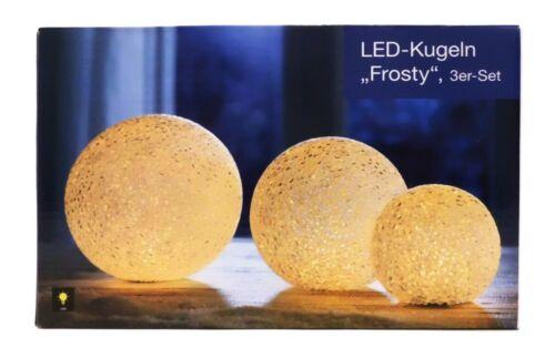 LED-Kugeln *Frosty* 3er-Set