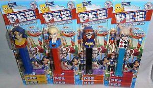DC SUPER HERO GIRLS ASSORTMENT Wonder Girl,Super Girl,Bat Girl,Harley Quinn