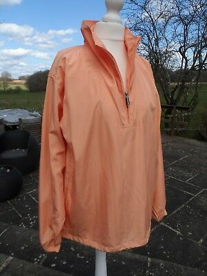 & Buck Leggero Cutter Primavera Antivento Peach Giacca Taglia Small Uk 10/12- Modellazione Duratura