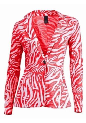 Blazer Best Connections Gr.36,38,40 Damen Jacke NEU Rot//Weiß Feslich Party Sakko