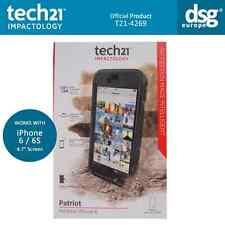 Genuine Tech21 Patriot Splash Shock Proof Case Cover For iPhone 6 6S 4.7'' Black