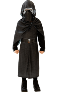Boys Deluxe Kylo Ren Star Wars Film /& TV Fancy Dress Costume