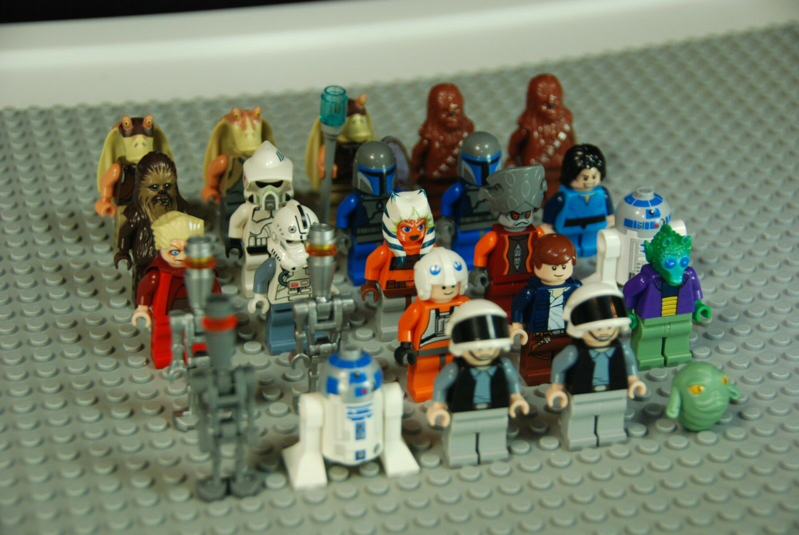 25 Mini Figuras De Lego Star Wars
