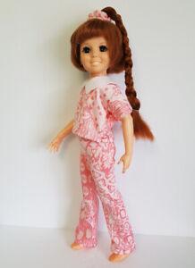 CRISSY-DOLL-CLOTHES-Crop-Top-Pants-amp-Hair-Scrunchie-Handmade-Fashion-NO-DOLL-d4e