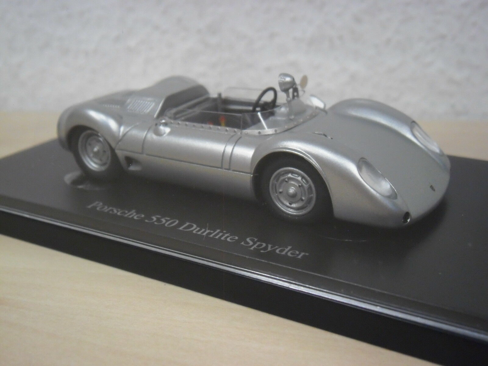Autocult - Porsche 550 Durlite Spyder - silber-metallic - Nr. 07007 - 1 43  | Große Auswahl