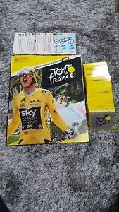 Panini-Tour-de-France-2019-SET-COMPLET-ALBUM-VIDE-FARTE-POUR-GLISSER