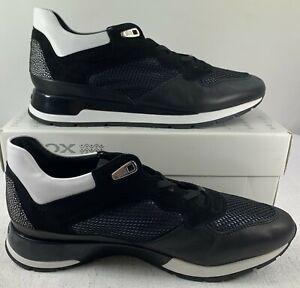 GEOX Women's Respira D Shahira B Low-Top Sneakers Shoes Black Size EUR 41  US 10. | eBay