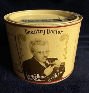 Rare-Country-Doctor-Tobacco-Tin-Excellent-Condition