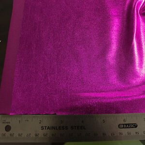 Style 3052 4-Way Stretch Foil Fabric by the Yard