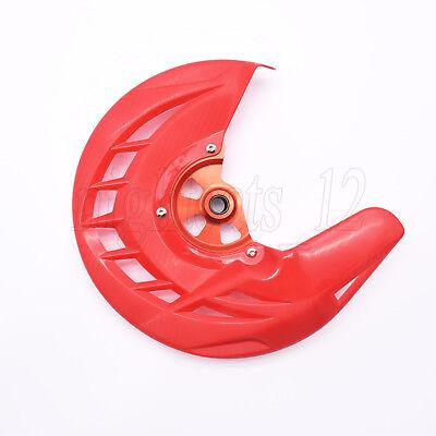 Front Brake Disc Guard Disc Cover For HONDA CRF250L CRF250M 12-16 Black