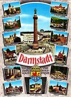 Darmstadt , Ansichtskarte, gelaufen