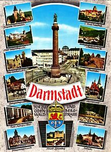 Darmstadt-Ansichtskarte-gelaufen