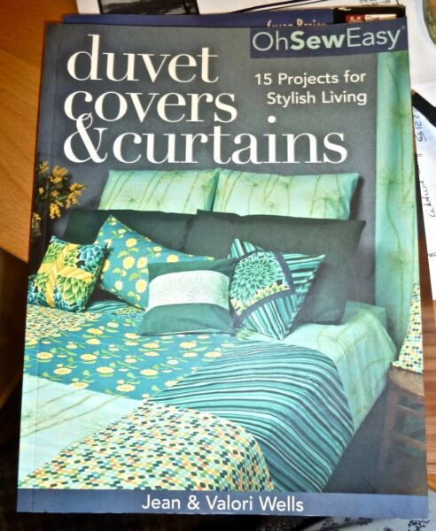$19 -DUVET COVERS & CURTAINS - OhSewEasy/Wells - 15 Projects for Stylish Living