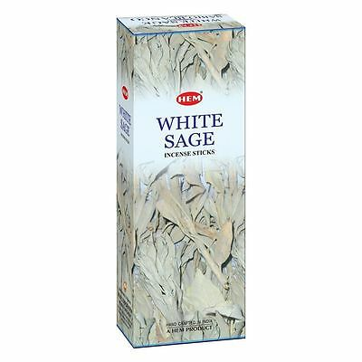 Hem White Sage Incense Sticks Direct From India Free Shipping