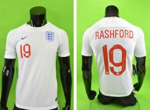 new arrivals 89338 81ea6 Details about Nike England Home Shirt Football WORLD CUP 2018 Jersey  RASHFORD Youth XL.Boys