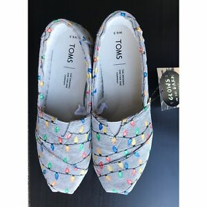 NWT TOMS WOMENS CLASSIC GLOW IN THE