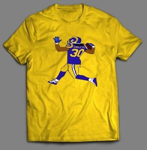 new product 7f862 c6887 Details about TODD GURLEY #30 L.A. QUALITY SICK CUSTOM *OLD SKOOL* Mens  Shirt *MANY OPTIONS*