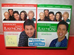 EVERYBODY LOVES RAYMOND 2-5 DVD DISC SETS SEASONS 1 & 2 BRAND NEW IN SEALED PKG