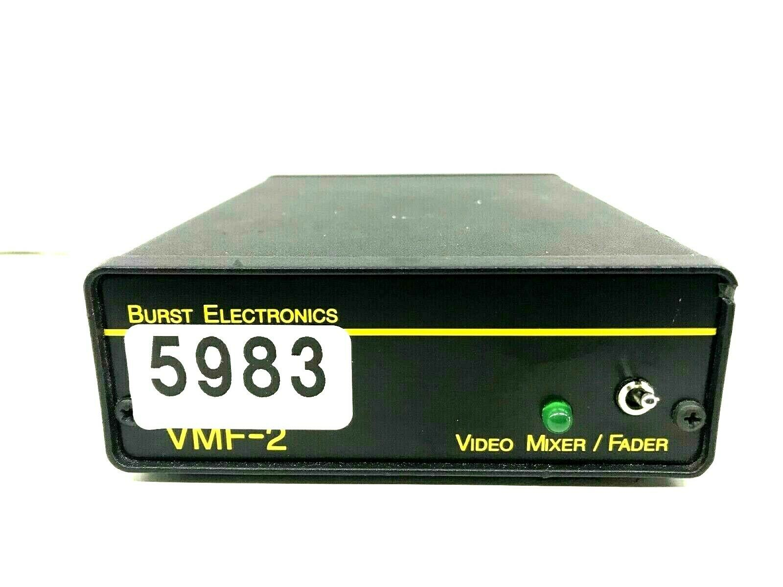 BURST ELECTRONICS VMF-2 VIDEO MIXER FADER  5983 (ONE)