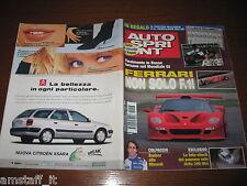 AUTOSPRINT 1999/8=FERRARI F50 GT=AGHINI Vs FIORIO RALLY=VOLVO S80=