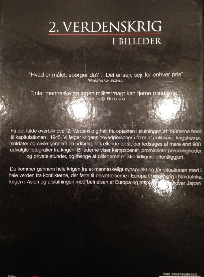 2. Verdenskrig i billeder, Forlaget Globe, genre: