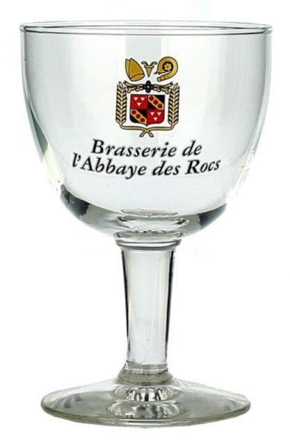 Abbaye des Rocs Belgian Beer Glass (BRAND NEW)