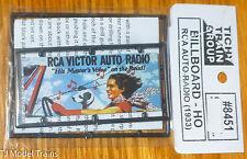 Tichy Train Group #8451 RCA Auto Radio 1933 Era (Billboard HO Scale)