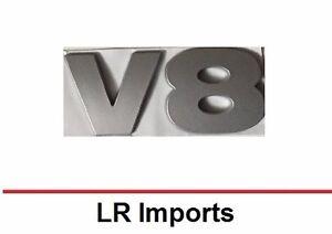 Land Rover LR3 3D Lettering Badge Emblem Titanium Silver