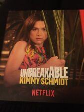 UNBREAKABLE KIMMY SCHMIDT Netflix Series DVD Emmy FYC PRESSBOOK + DVD NEW