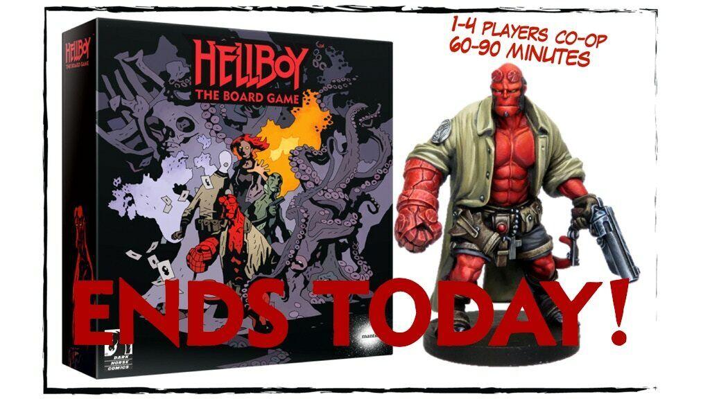 Hellboy el juego de tablero KickEstrellater KS agente promesa Nuevo-Sin Abrir
