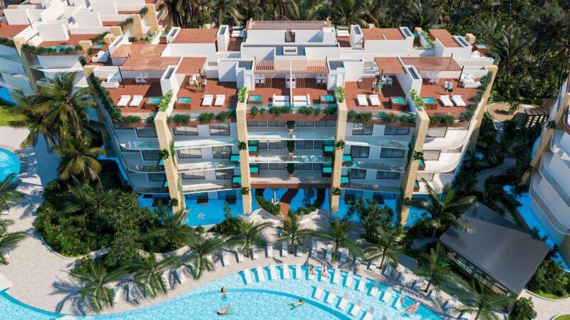 Departamento en Venta en Wyndham Grand Mayakaan Residences Riviera Maya, Puerto Morelos, 3 Recámaras