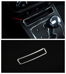 Chrome-Inner-Gear-Front-Storage-Box-Cover-Trim-For-Jeep-Patriot-Compass-2011-16