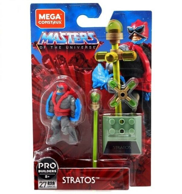 "Masters of the Universe MOTU Mega Construx Heroes - 2"" Stratos Figure GNV35"