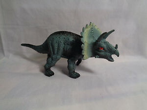 Image Is Loading 2008 Plastic Triceratops Dinosaur Figure Or Cake Topper