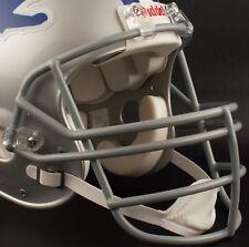 DETROIT LIONS Riddell Speed S2EG Football Helmet Facemask SILVER Faceguard