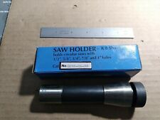 Slitting Saw Holder With R8 Shank